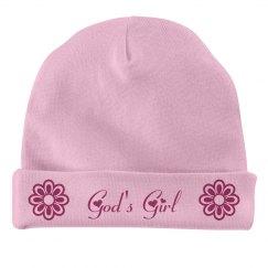 God's Girl Baby Hat