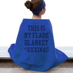 THIS IS MY FLARE BLANKET