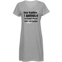 Dear Naptime...
