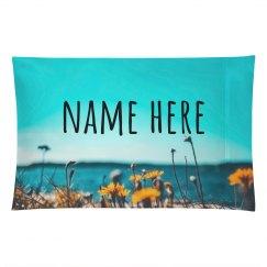 Custom Name Flower Beach Gift