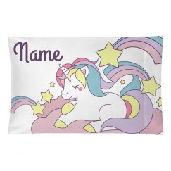Kids Cute Unicorn Custom Name