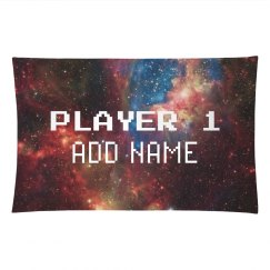 Player 1 Custom Name Space Invader