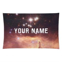 Custom Name Nebula Space Print