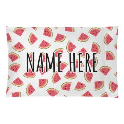 Custom Name Watermelon Summer