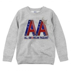 All American Pageant Sweatshirt (Youth)