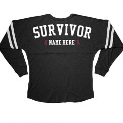 Custom Pink Ribbon Survivor