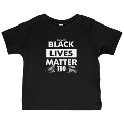Toddler Black Lives Matter Too