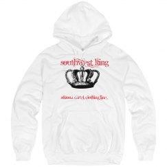King hoody White