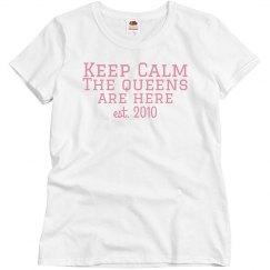 Keep Calm T pink