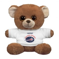 GSC 7.5 INCH OOGLES BROWN BEAR STUFFED ANIMAL