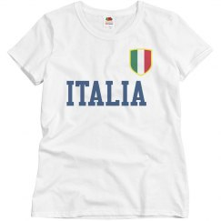 Italia Soccer Badge