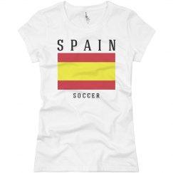 Spain Flag Soccer Fan