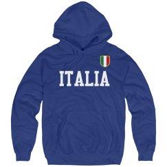 Italia Badge Hoodie