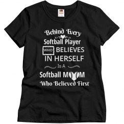 Softball mom - Believed first