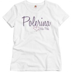 Miss Pole Polerina T-shirt