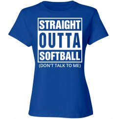 Straight outta Softball