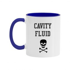 Cavity Fluid Colorful Mug