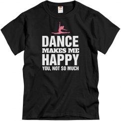 Dance makes me happy