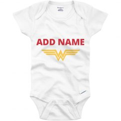 Wonder Woman Parody Onesie