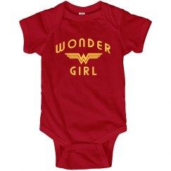 Wonder Girl Cute Girl Power
