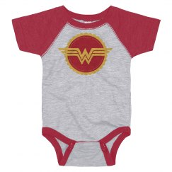 Baby Is Wonder Woman Parody