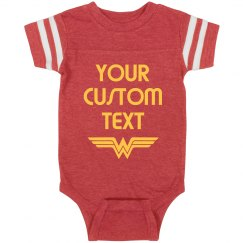 Personalized Wonder Woman Spoof
