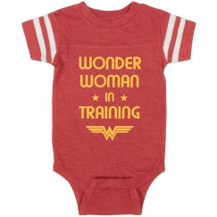 Wonder Woman In Training Spoof