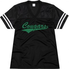 Pflugerville Connally cougars shirt.