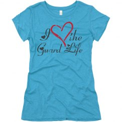 I Heart the Guard Life (Vintage Heart & Heart Script)