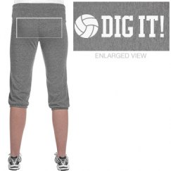 Dig It Volleyball Capris