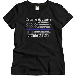 Police Wife Thin Blue LIne