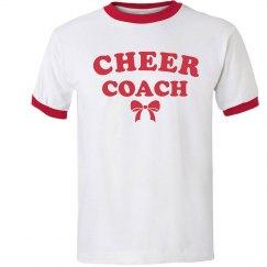 Cheer Coach Ringer Tee