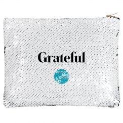 Grateful makeup bag