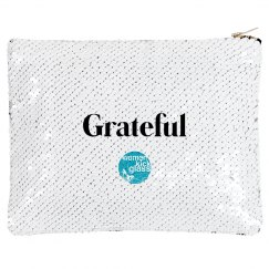 Grateful makeup bag