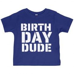 Birthday Dude Tee Youth