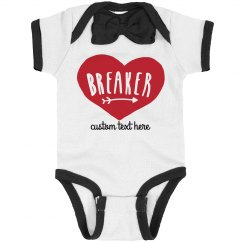 Heartbreaker Custom Bowtie Valentine's Baby