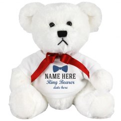 Bowtie Custom Ring Bearer Teddy