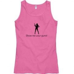 Show me Guns pink