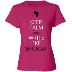 Write Like Shonda