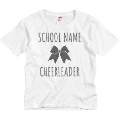 Custom School Cheerleader Tee