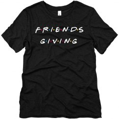 Friends-Giving 90s Thanksgiving Tee