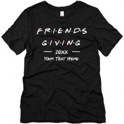Custom Friendsgiving Group Tee