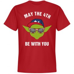 July 4th Yoda Tee