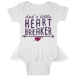 Dad's Little Heartbreaker - Onesie