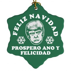 Feliz Navidad Mr Trump!