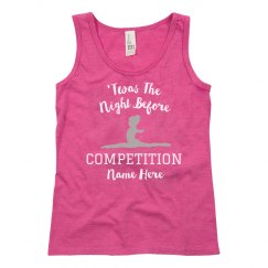 Custom Girls Competition Tank Top