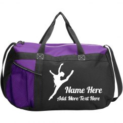 Personalized Dance Class Bag