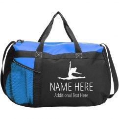 Custom Name & Text Dance Bag