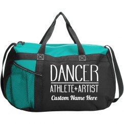 Custom Name Teen Dance Class Bag