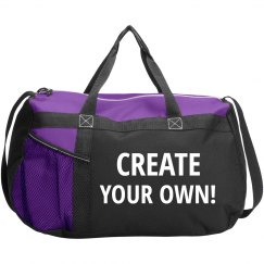 Create Your Own Custom Sport Duffel